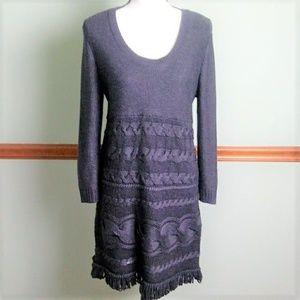 Calvin Klein size large sweater dress